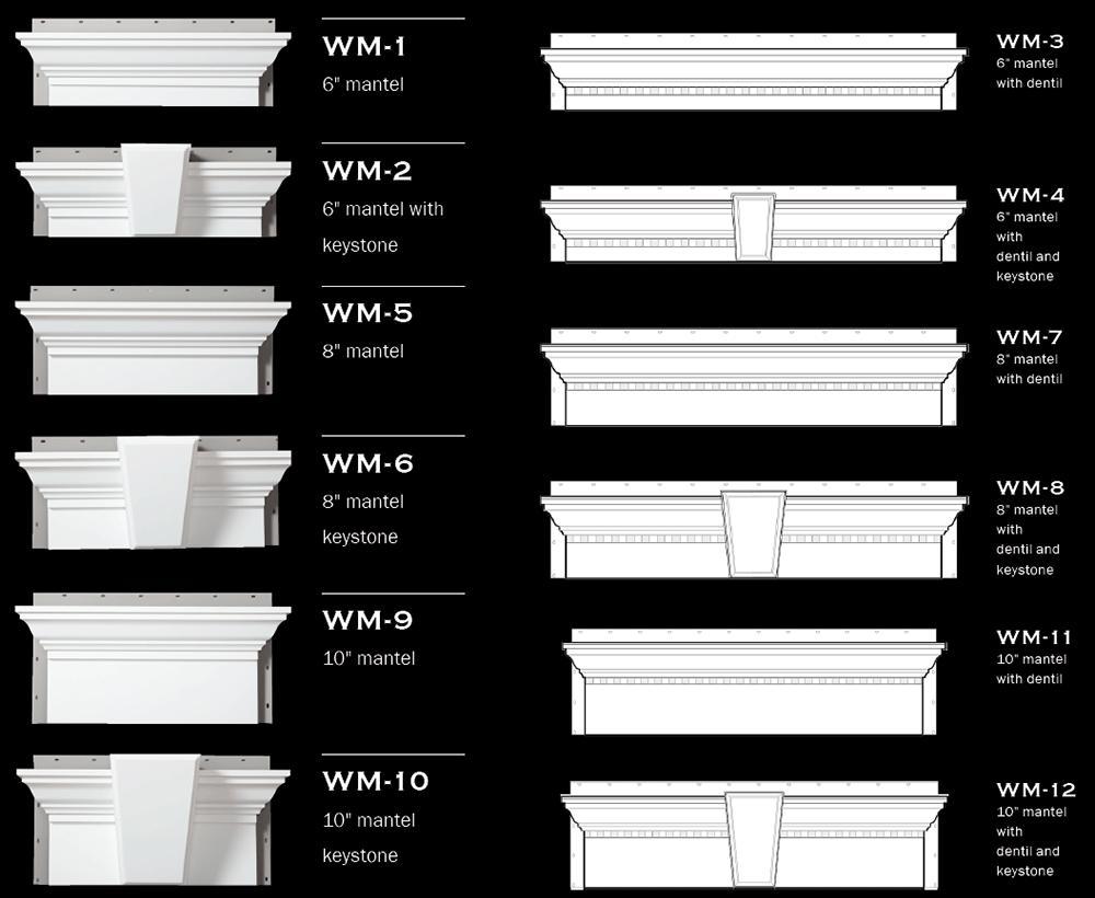 Window & Door Mantels
