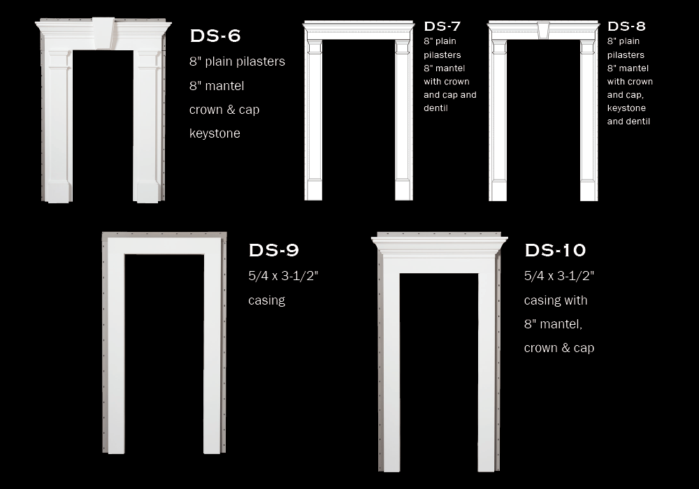Door Surrounds: DS-1 to DS-5